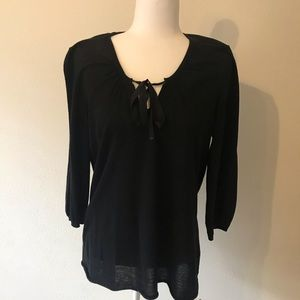 Gap Black Blouse size L